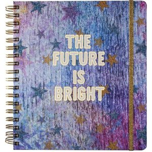 Tri-Coastal Design 17 month Weekly Agenda, pink - The Future is Bright