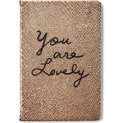 Tri-Coastal Design Notebook - You are Lovely