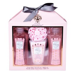 Tri-Coastal Design Body Essentials Set - French Cherry Blossom Scented