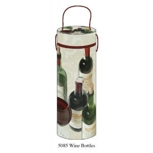 Tri-Coastal Design WINE TUBE 10 X 32.5CM, WINE BOTTLES