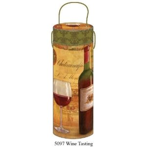 Tri-Coastal Design Wine Tube, 10x32,5 cm - Wine Tasting